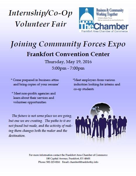 Community Expo & Intern-Co-Op Fair 2016 - 5-19-16