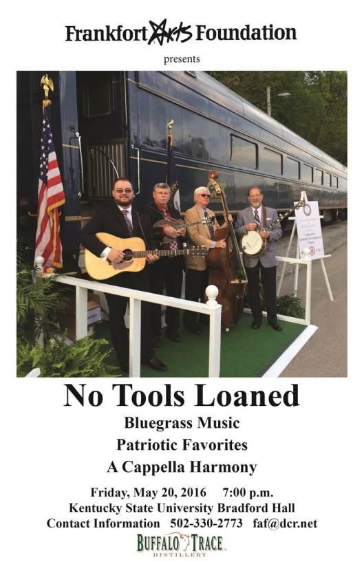 No Tools Loaned at KSU - 5-20-16