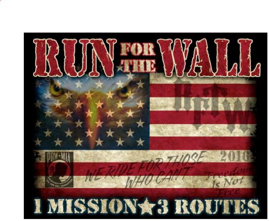 Run for the Wall at the Kentucky Vietnam War Memorial - 5-25-16