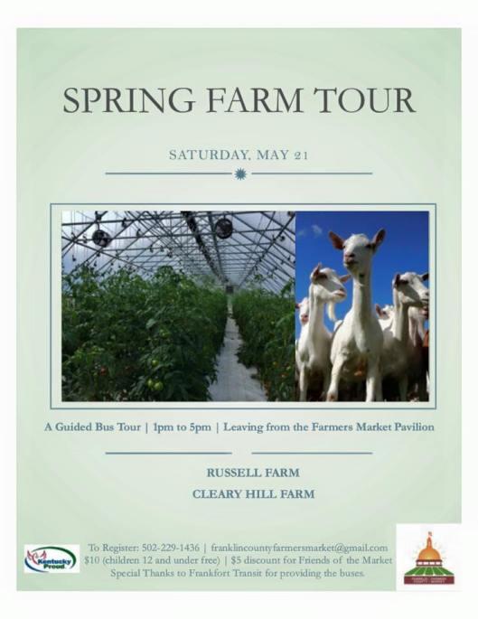 Spring Farm Tour 2016
