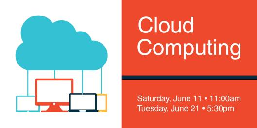 Cloud Computing at the PSPL - June 2016