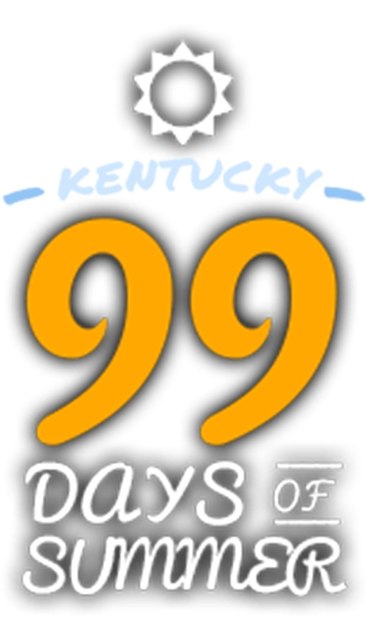 KY Department of Travel 99 Days of Summer Logo