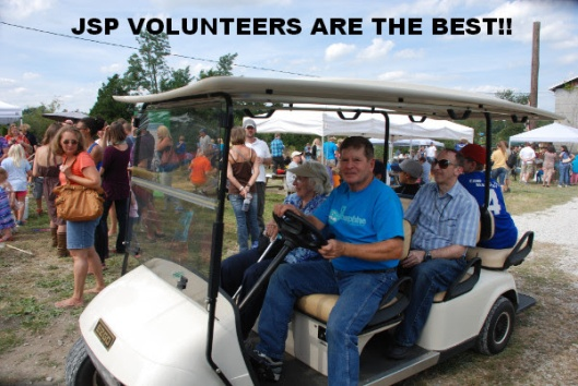 Volunteering at JSP exists because of YOU!
