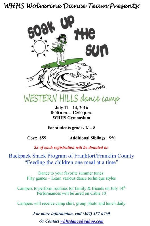 WHHS 2016-Kids Camp Flyer & Application-1
