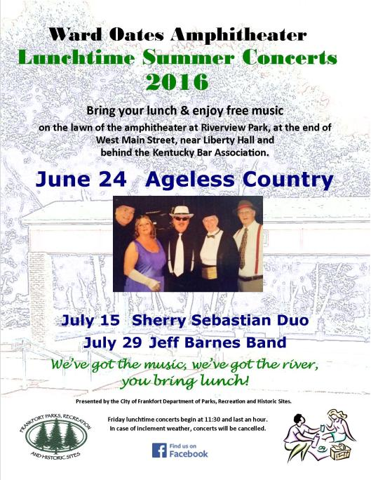 WOA Ward Oates Amphitheater Lunchtime Concert Series 2016 - June 20 Version