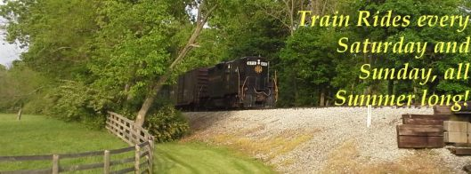 Bluegrass Railroad Museum Scenic Train Ride - Summer 2016
