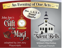 Bluegrass Theatre Guild - One-Act plays at the Grand Theatre - Dec1-4