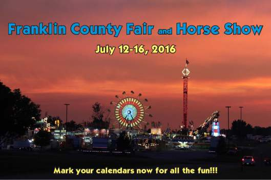 Franklin County Fair & Horse Show - July 12-16