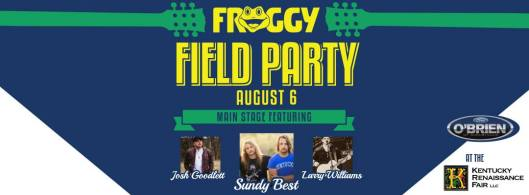 Froggy Field Party 8 in Eminence - 8-6-16