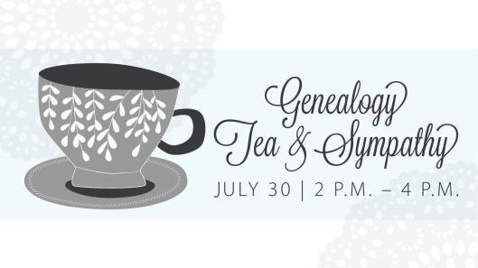 Genealogy Tea & Sympathy at the KHS - 7-30-16