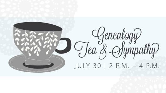 Genealogy Tea & Sympathy at the KHS - 7-30-16