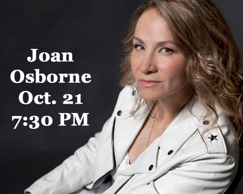 Joan Osborne Acoustic Trio at the Grand Theatre - 10-21-16