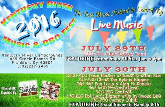 Kentucky River Campground Music & BBQ Festival - July 2016