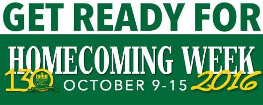 Kentucky State University KSU Homecoming Week - Oct9-15-2016