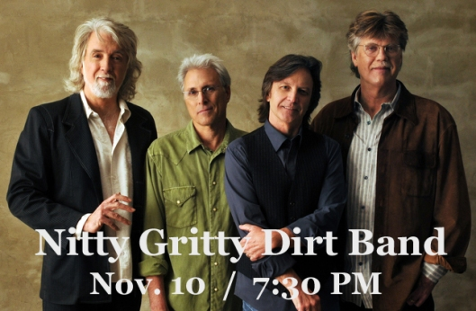 Nitty Gritty Dirt Band at the Grand Theatre - 11-10-16