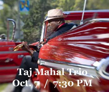 Taj Mahal Trio at the Grand THeatre - 10-7-16