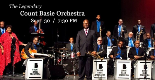 The Legendary Count Basie Orchestra at the Grand Theatre - 9-30-16