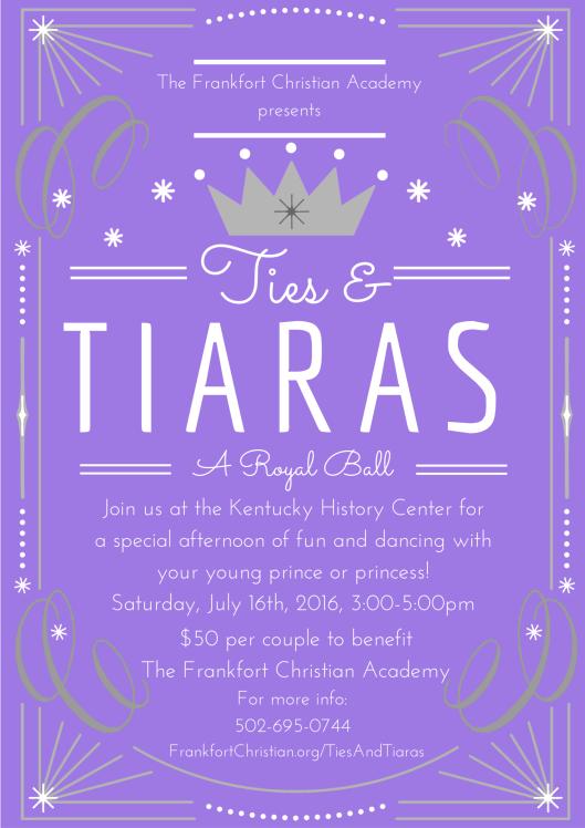 Ties & Tiaras Full - 7-16-16