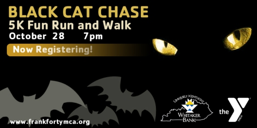 Black Cat Chase 5K at the Old State Capitol Lawn - 10-28-16