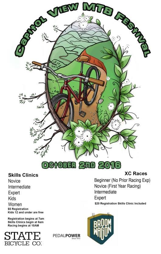 Capitol View Mountain Bike Festival - 10-2-16