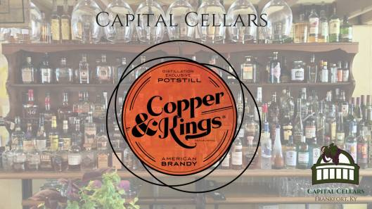 Copper & Kings Brandy Tasting at Capital Cellars - 8-26-16