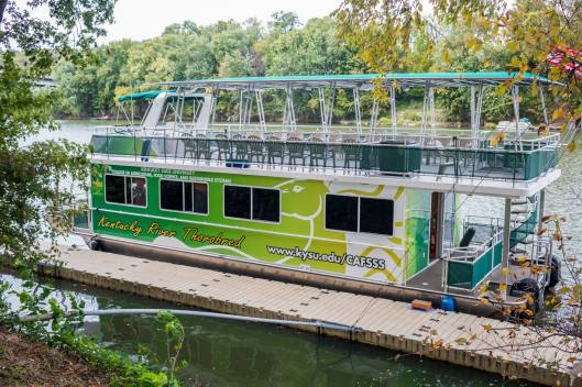 Explore Nature Series KSU Thorobred Tour at CAnoe Kentucky - 9-5-16