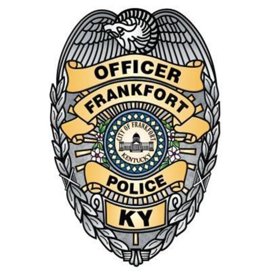 Frankfort Police Dept Badge