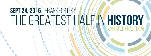 KY History Half Marathon - 9-24-16