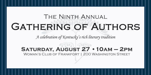 Ninth Annual Gathering of Authors at the Women's Club of Frankfort - 8-27-16