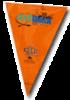 Orange ArtWalk Flag