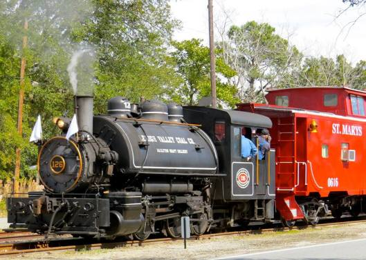 Sadie the Steam Engine at the Bluegrass Railroad Museum 2