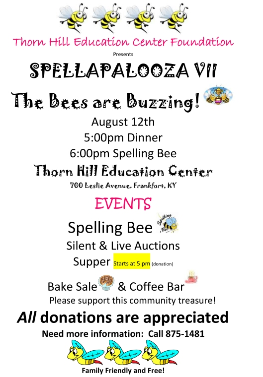 Spellapalooza at Thorn Hill Learning Center - 8-12-16