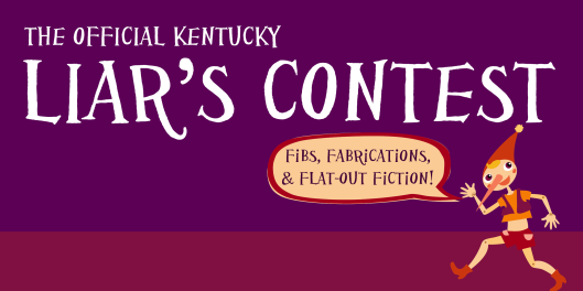 The Official Kentucky Liar's Contest at the Paul Sawyier Public Library PSPL - 9-8-16