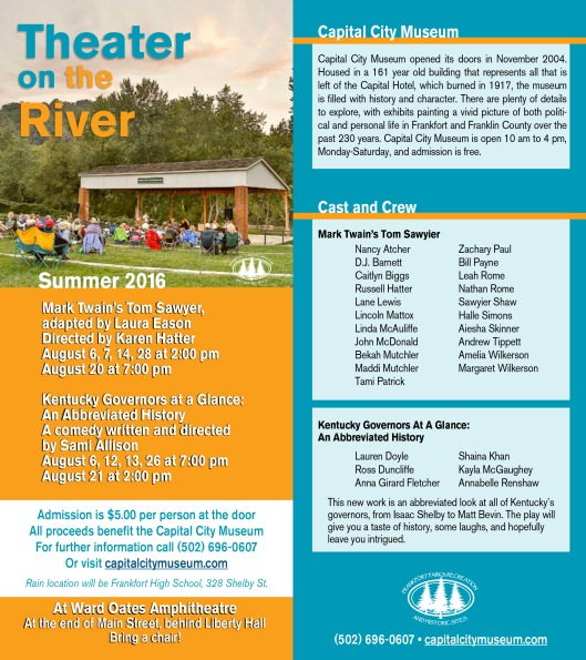 Theater on the River at WOA Ward Oates Amphitheater 2 - Aug2016